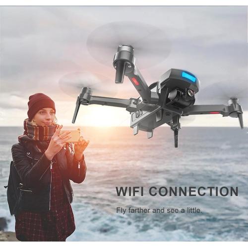MP-118 Aerial FPV Drone w/Dual GPS, 1080P WiFi Camera More