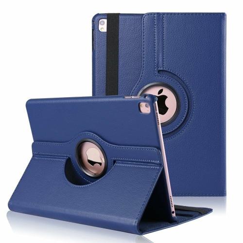 """【CSmart】 Rotation PU Cuir Étui Coque pour tablette Couverture de cas intelligente pour iPad Pro 11"""" 2018, Marine"""