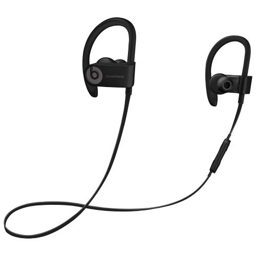 Écouteurs bouton sport Bluetooth Powerbeats 3 de Beats by Dr.Dre - Noir - Remis à neuf