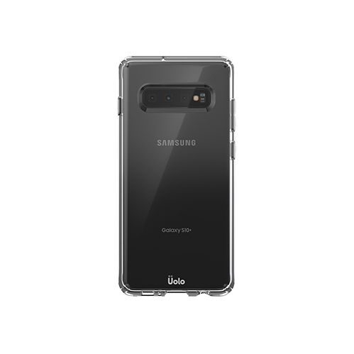 Uolo Soul Fitted Hard Shell Case for Samsung Galaxy S10+ - Clear