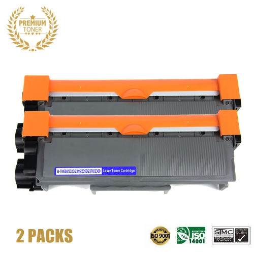 LuckyCat™ 2 Packs Deal ! Brother TN660 Black Toner Cartridge Online Only!