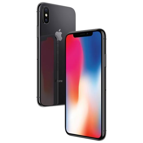 Apple iPhone X 64GB Téléphone Intelligent - Gris cosmique - Déverrouillé - Certifié remis à neuf