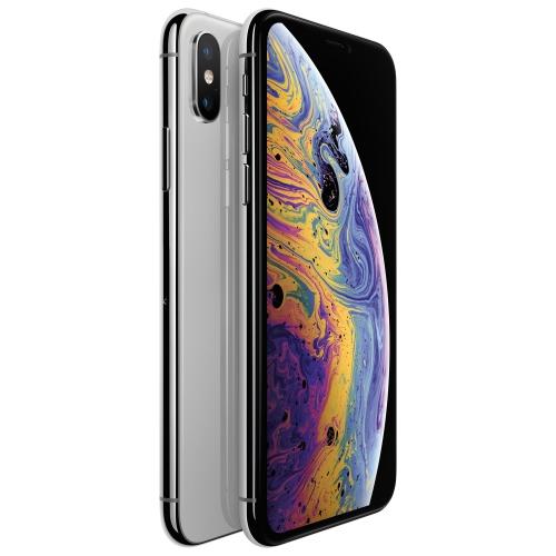 Apple iPhone XS Max 64GB Téléphone Intelligent - Argent - Déverrouillé - Remis à neuf