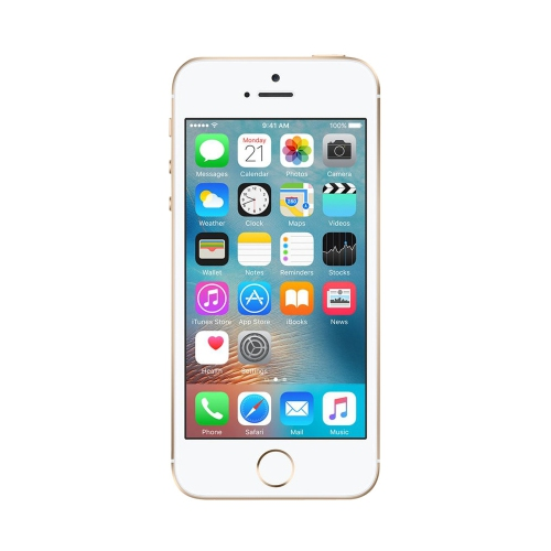 Apple iPhone SE 16GB Smartphone - Gold - Unlocked - Certified Refurbished