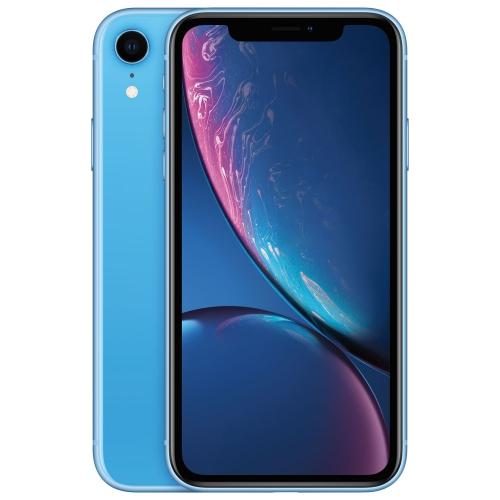 Apple iPhone XR 64GB Téléphone Intelligent - Bleu - Déverrouillé - Occasion certifié par le fabricant