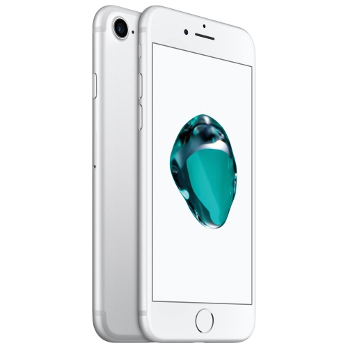 Apple Iphone 7 128gb Smartphone Silver Unlocked Manufacturer Certified Refurbished Best Buy Canada