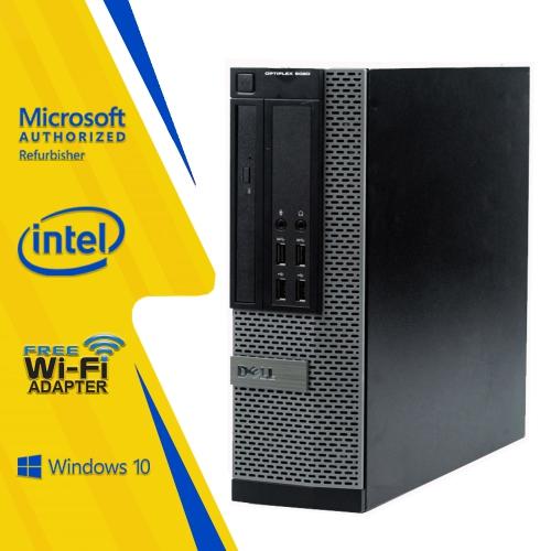 Dell Optiplex 9020 SFF Desktop Core i5 4570 4GB RAM 256GB SSD Windows10  Home 2 Yrs Warranty Tecnocanada Refurbished