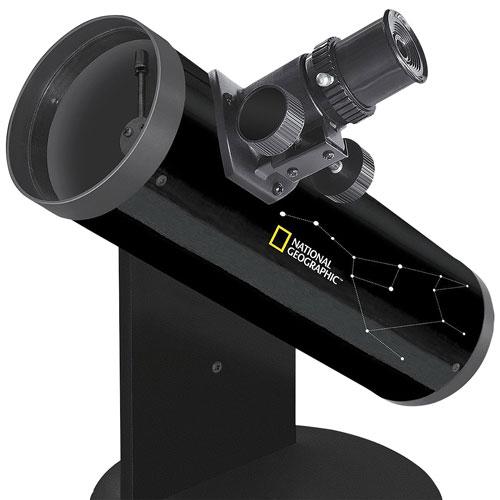 Lunette astronomique compacte de 76 x 350 mm de National Geographic