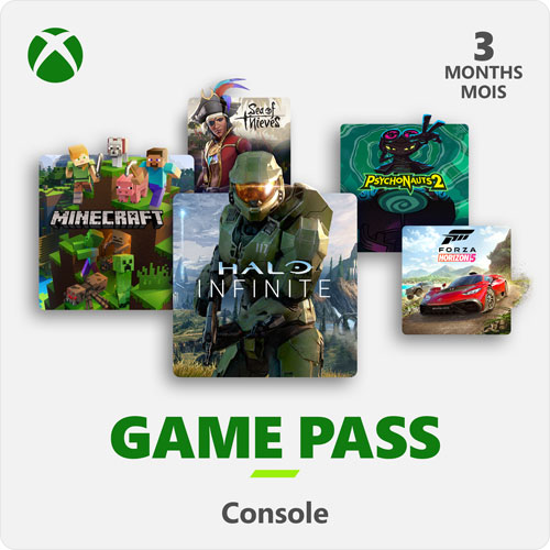 Xbox Game Pass 3-Month Membership - Digital Download