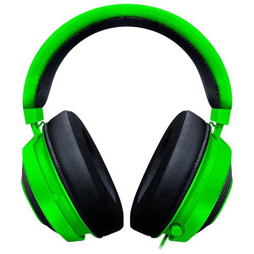 Razer Kraken Over-Ear Gaming Headset - Green
