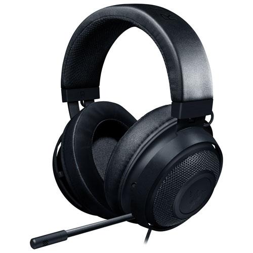 Razer Kraken Gaming Headset with Microphone - Black