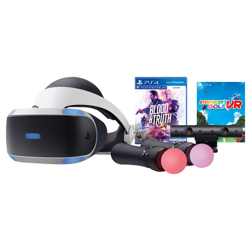 Playstation VR Blood & Truth & Everybody's Golf Bundle 3004151