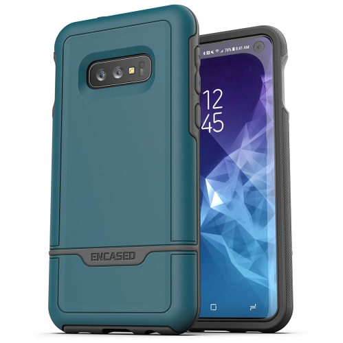 Encased Heavy Duty Galaxy S10e Protective Case (2019 Rebel Armor) Military  Grade Full Body Protection Cover for Samsung Galaxy