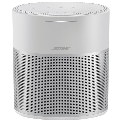 Haut-parleur Home Speaker 300 sans fil multipièce de Bose avec commande vocale intégrée - Gris luxe