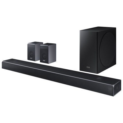 Samsung HW-Q90R/ZC 536-Watt 7.1.4 Channel Sound Bar with Wireless Subwoofer