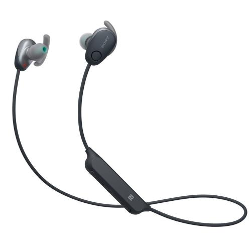 Sony Wi Sp600n In Ear Noise Cancelling Bluetooth Headphones Black Open Box Best Buy Canada