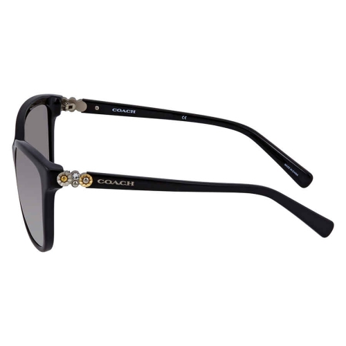 1486ede2644ee Coach Grey Gradient Square Sunglasses HC8187B 500211 54