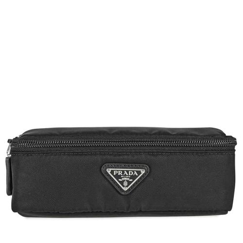 f123cf7c9855 Prada Zipped Wash Bag- Black   Best Buy Canada