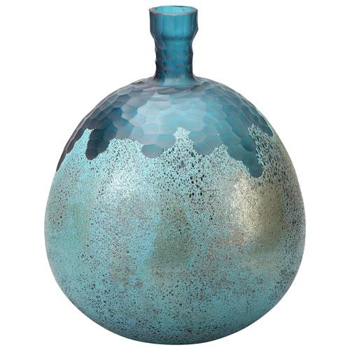 Nix Glass Vase - Blue