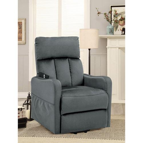 Strange Serta Palacio Fabric Lift Recliner Chair Slate Grey Uwap Interior Chair Design Uwaporg