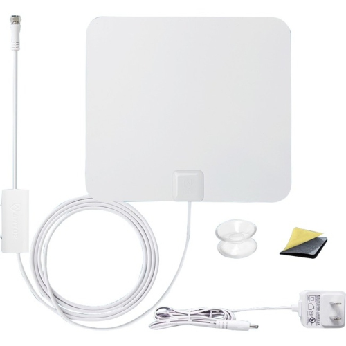 ANTOP Paper Thin Smartpass Amplified Indoor HDTV Antenna - 50 Mile