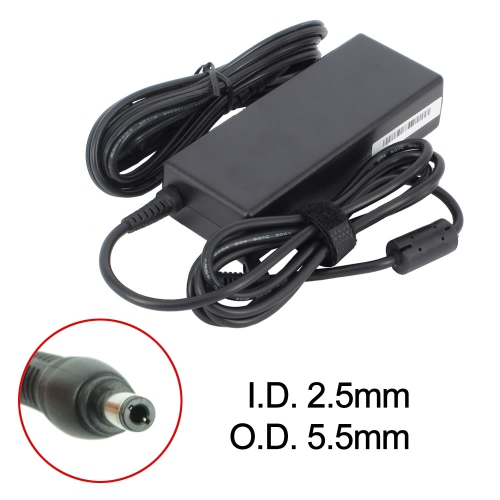 New Laptop AC Adapter for Asus F6V, 04G266006001, 1533789, 90-N00PW5300T, ADP64, K000004590, QND1ACYZZZTA43