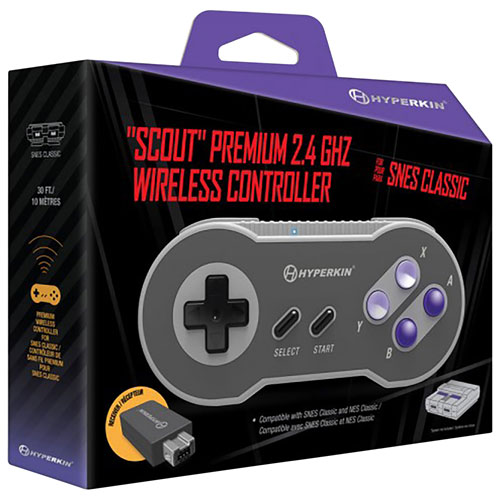 Retro Gaming Accessories: NES & SNES Controller, Adapters