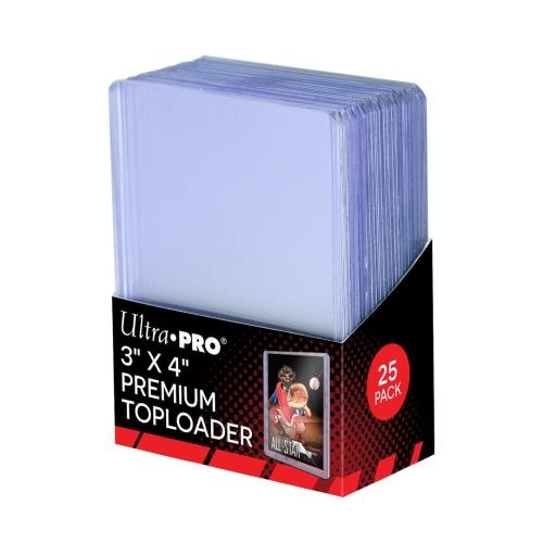 """Ultra Pro 3"""" X 4"""" Super Clear Premium Toploader 25ct"""