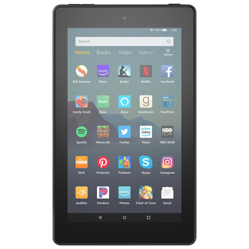 Amazon Fire 7 7 16gb Fireos 6 Tablet With Mtk8163b Quad Core Processor Black Best Buy Canada