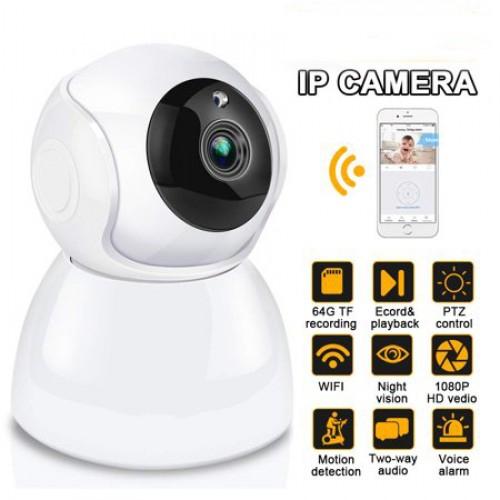 Moniteur pour bébé Vision nocturne sans fil Wi-Fi V380 Pro 720P avec caméra de sécurité pour la maison