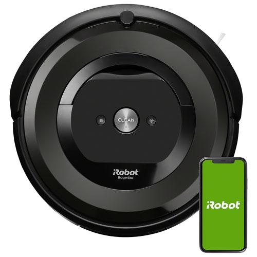 Aspirateur robot connecté Wi-Fi Roomba e5 d'iRobot - Anthracite