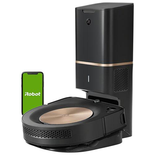 iRobot Roomba s9+ Robot Vacuum - Java Black s955020