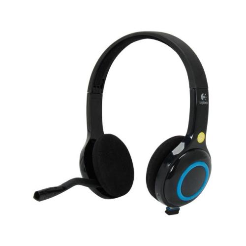 Logitech Headset Ordinateur Sans Fil H600 Suppression Du Bruit 981-000341 Noir - Reconditionné Certifié