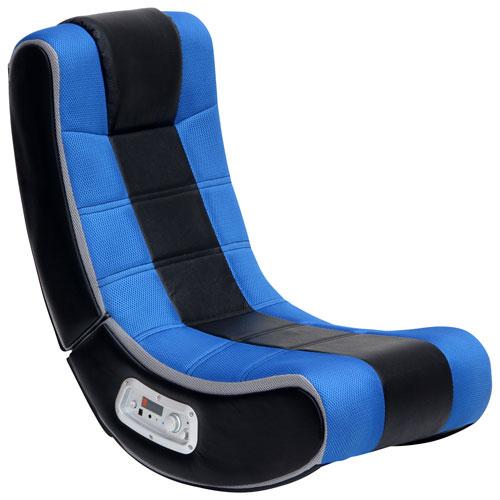 Groovy X Rocker Se Ergonomic Rocker Gaming Chair With Built In Speaker Black Blue Forskolin Free Trial Chair Design Images Forskolin Free Trialorg