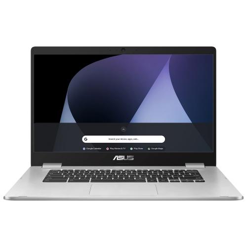 Asus C523 15 6 Chromebook Silver Intel Dual Core Celeron N3350 64gb Emmc 4gb Ram Chrome Os Best Buy Canada