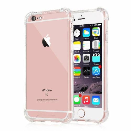 Coque iPhone 6 Plus / iPhone 6S Plus, Jenuos Transparent Doux Souple Extrêmement Fin Housse TPU Silicone Etui pour iPhone 6 /6S Plus 5.5