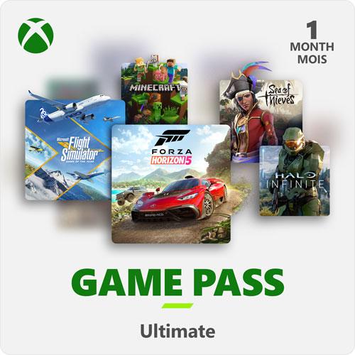 Xbox Game Pass Ultimate 1-Month Membership - Digital Download