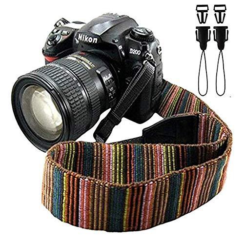 Single Shoulder Sling Belt Strap padded comfort long quick for Camera DSLR UK