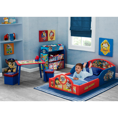 Delta Children Traditional 4-Piece Toddler Bedroom Set - Paw Patrol