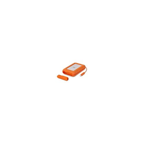 NEW LaCie Rugged Raid Pro 4TB USB-C Hard Drive SD Card Reader STGW4000800