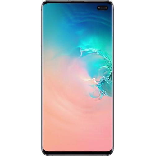 Samsung Galaxy S10+ 128 Go Téléphone Intelligent - Blanc prismatique - Déverrouillé - Boîte ouverte