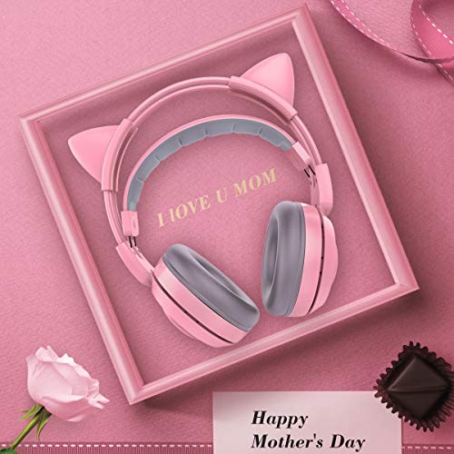 3. Mobile Phone PC SOMIC G951s Pink Gaming Headset with Mic for PS4 Xbox One