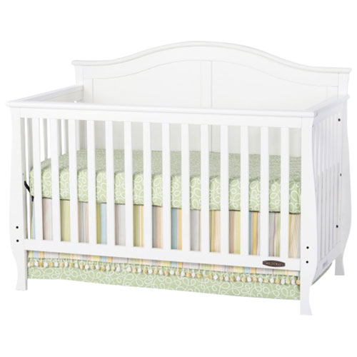 Child Craft Camden 4-in-1 Convertible Crib - White F31001.46C