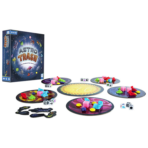 Astro Trash Family Dice Game - English