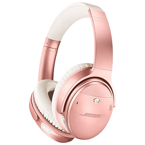 Bose QuietComfort 35 II Over-Ear Noise Cancelling Bluetooth Headphones -  Rose Gold | Best Buy Canada