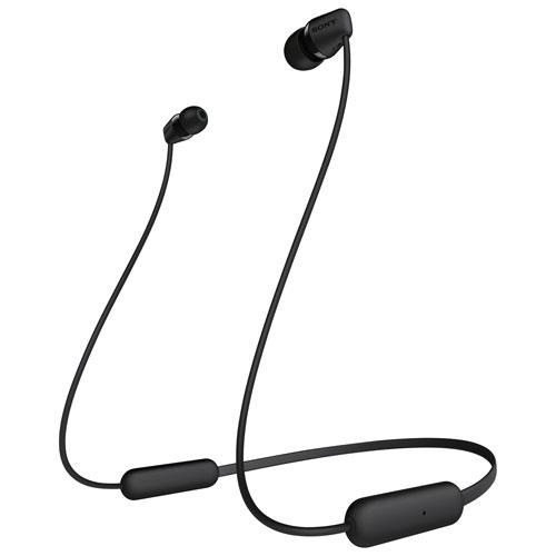Sony WIC200 In-Ear Bluetooth Headphones - Black