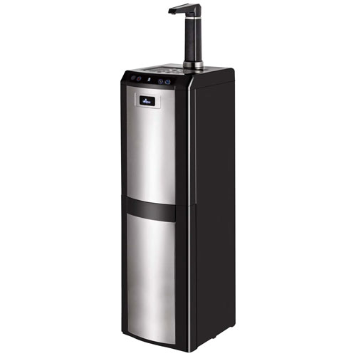 Vitapur VWD1076BLST Bottom-Load Water Dispenser - Black/Stainless Steel