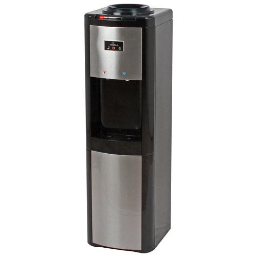 Distributeur d'eau à chargement par le haut VWD366BLS-K de Vitapur - Noir/Acier inoxydable