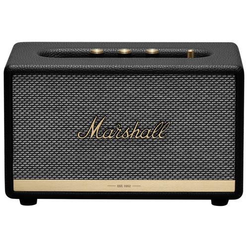 Marshall Acton II Bluetooth Wireless Speaker - Black
