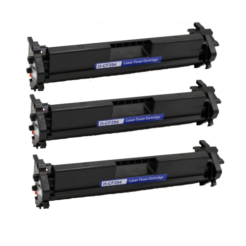 3 Pack CF294A Compatible Toner Cartridge for HP 94A Laserjet Pro M118dw, MFP M148dw, MFP M148fdw, MFP M149fdw